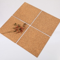 Best selling cork sheet 1mm thick natural color adhesive back on sale
