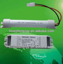 emergency battery backup exit sign for led fluorescent lamp T5/T8