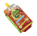 Stand up bag with spout for fruit juice food