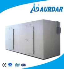 frozen cold storage room for fruits vegetables fish