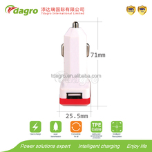A28 universal home and car charger with usb port made in china Dongguan
