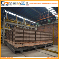 New design technology energy conservation and environmental protection full automatic clay brick tunnel kiln