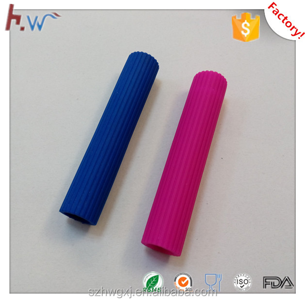 Custom made silicone rubber tube sleeve with factory price