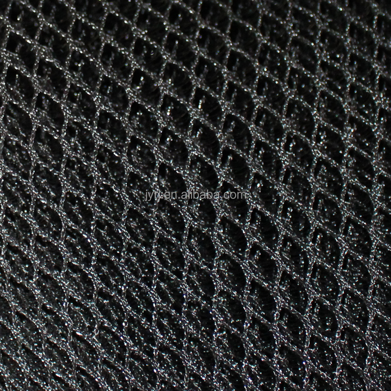 6mm 8mm multifunctional sandwich mesh fabric 3D air spacer black mesh fabric