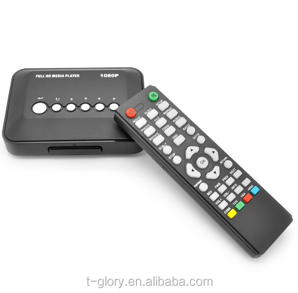 Remote control for HD DVB-T2 television set top box 2000 channels TV and Radio programmable