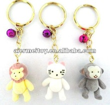 Lion and Monkey Key Chain