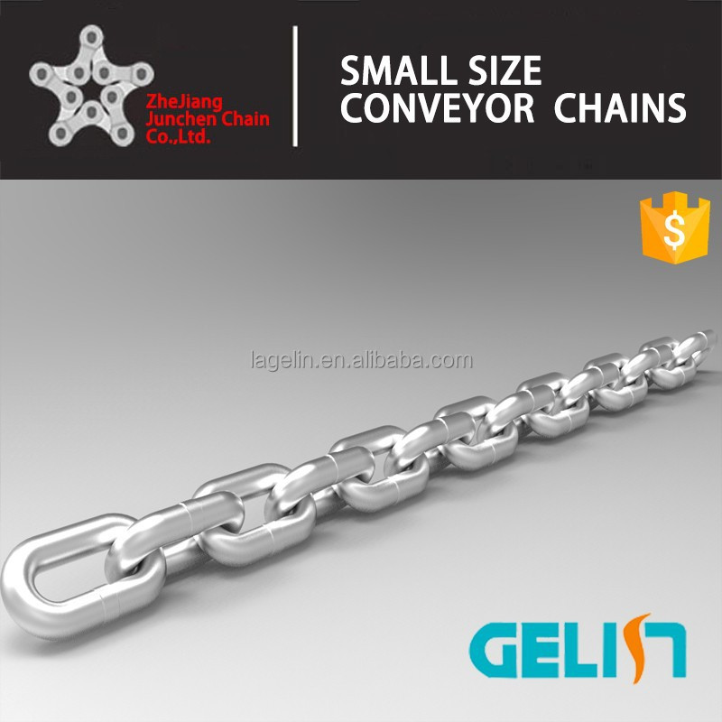 G80 high quality steel welded galvanized lifting chain round link chain
