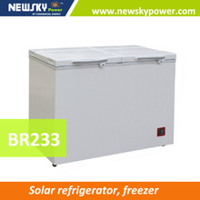 big commercial battery power solar panel dc 12 volt solar freezer