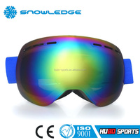 Made in China jet ski safety product silicone strap custom brand snowboarding goggles