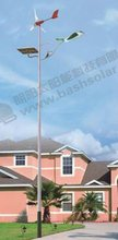 solar street light with steel pole and high lumin LED, different height