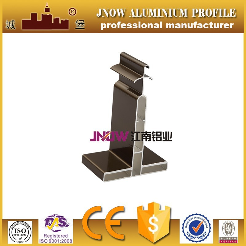 aluminum profile/ anodized aluminum extrusion/ 6063 T5 extrusion aluminum ISO certificated by china manufacturer