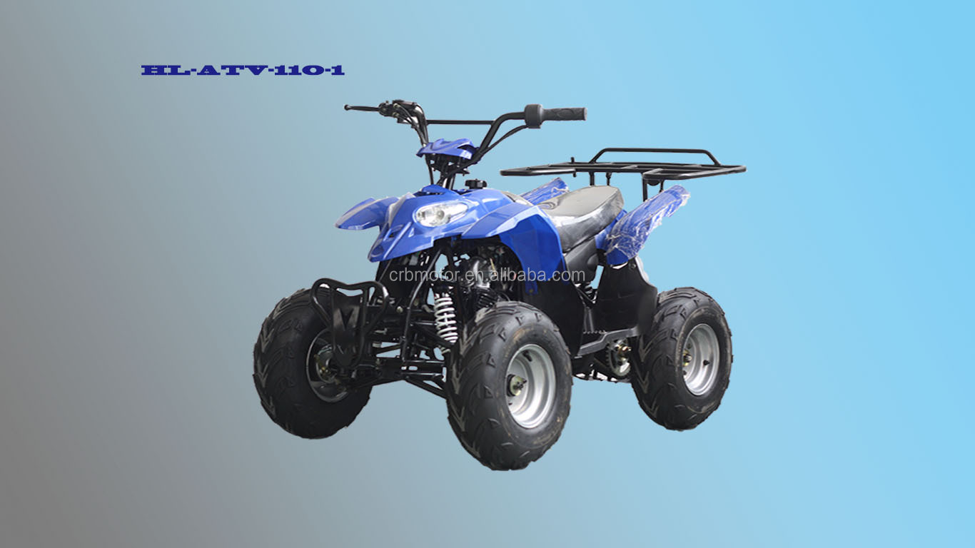 110CC Chinese ATV Equipped with 4-Stroke Engine