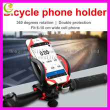 Wholesale Large Stocks Strong Unbreakable Elastic Mount Silicone Band bike mobile bracket holder For All Brand Phones