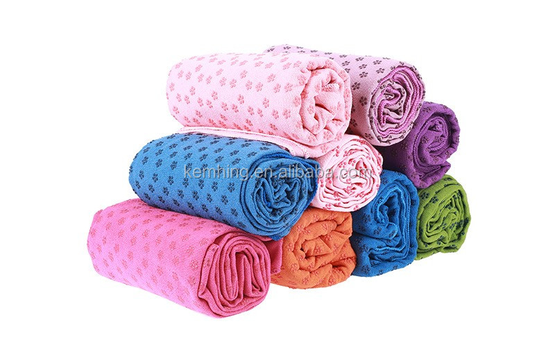 Hot sale super absorbent quick dry light weight microfiber yoga towel