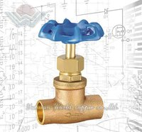 Brass regulating rockwell edwards globe valves