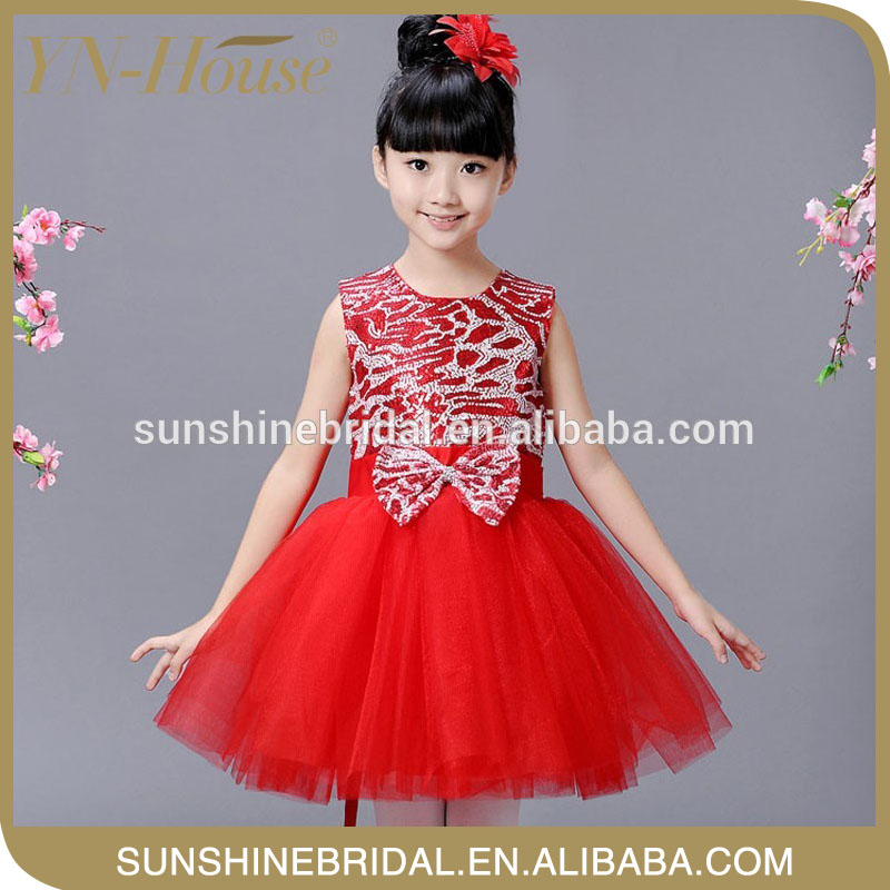 full-length ball gown kids formal dresses images for wedding party or ball gown