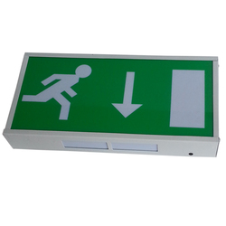 8w Fluorescent Emergency Luminous Fire Exit Safety Sign