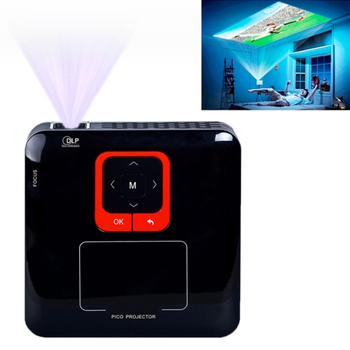 cheap high quality KP100 Wireless Wifi&Bluetooth HD 1080P LED professional Mini Projector