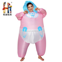Unique Design Pink Inflatable Baby Costume For Wholesale