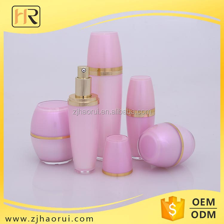 Plastic Cosmetics Packaging Face Cream Jar Factory Direct Wholesale 120ml 50ml 30ml Lotion Pump Acrylic Bottle
