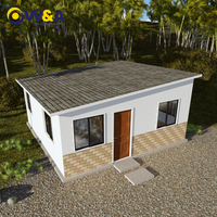 (WAS1012-36S)Ce Certificated Fireproof Steel Structure Prefabricated Villas in Russia