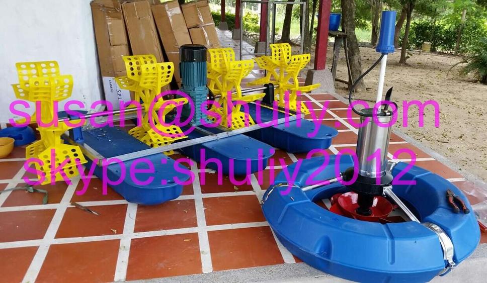 Wholesale paddle water wheel aerator fish pond aerator for for Big fish ponds for sale
