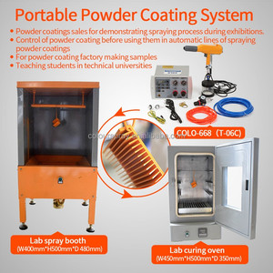 110V /220V Lab test portable powder Coating chamber