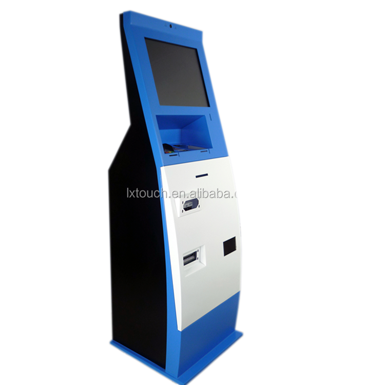 Customized Bitcoin ATM Kiosk Machine,Self Service Payment Touch Screen Kiosk Price