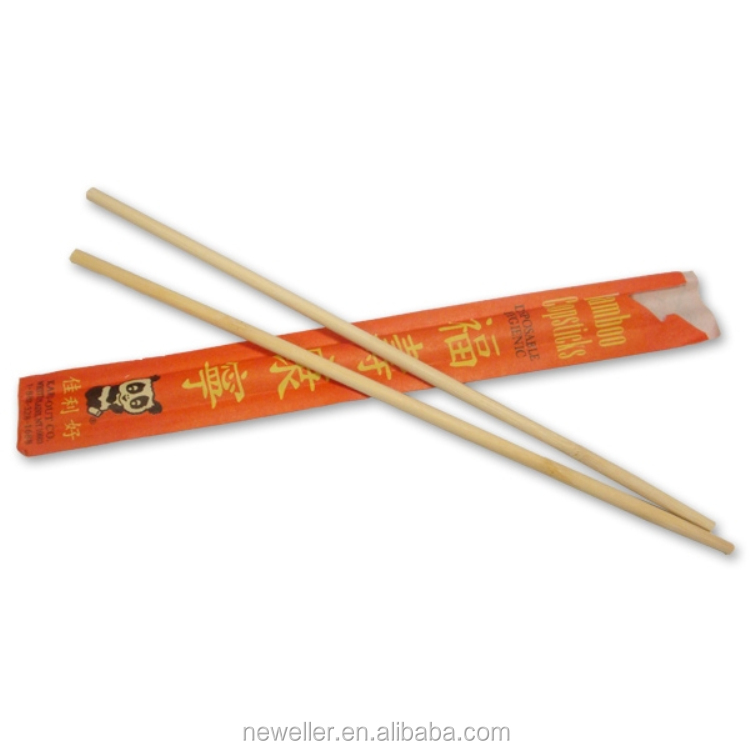Plastic easy use disposable chopstick made in China