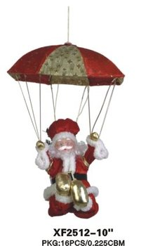 Up And Down Parachute Santa Musical Leg Movement