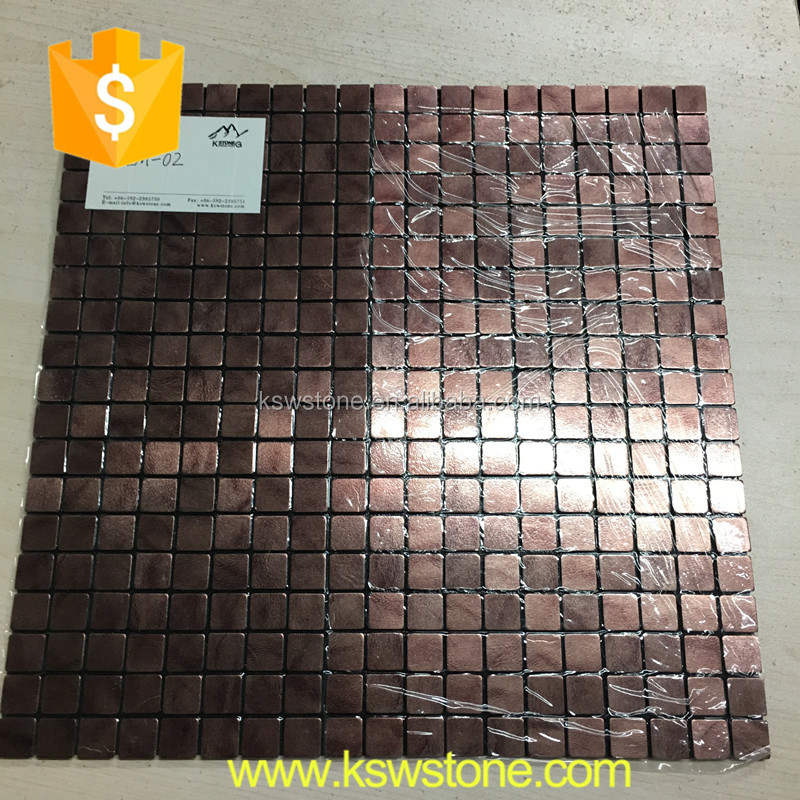 China square mosaic aluminum tiles best quality