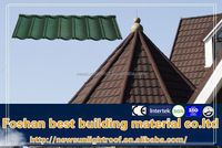New Sunlight branded tiles,natural stone coated steel roofing tile,better than asphalt shingle tile