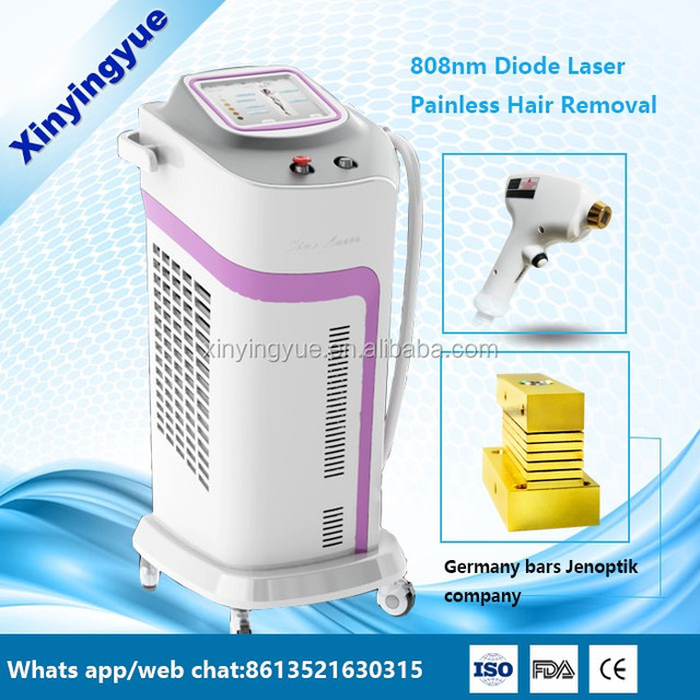 12 Bars 808nm Diode Laser Hair Removal Machine Cosmetic Laser Equipment