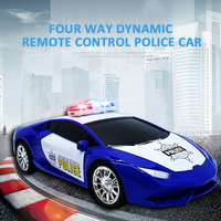 4 Channel Police RC Car Electric Car