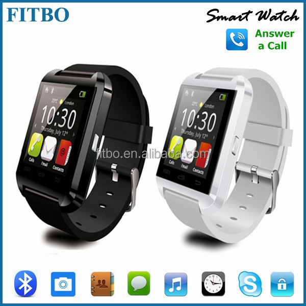 "1.48"" MP3 / MP4 Anti Lost U8 wifi watch cell phone for Samsung S7 S6 Edge Plus Note 5"