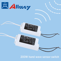 Popular in Europe china manufacturing contactless hand wave IR switch