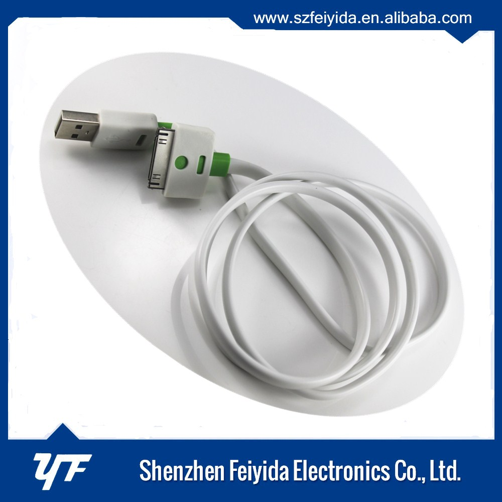 Sufficient Supply Original For Apple iPhone 4S 4 iPad iPod 30 Pin USB Data Charger Cable Charging