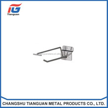 Supermarket rack double line hooks with good quality
