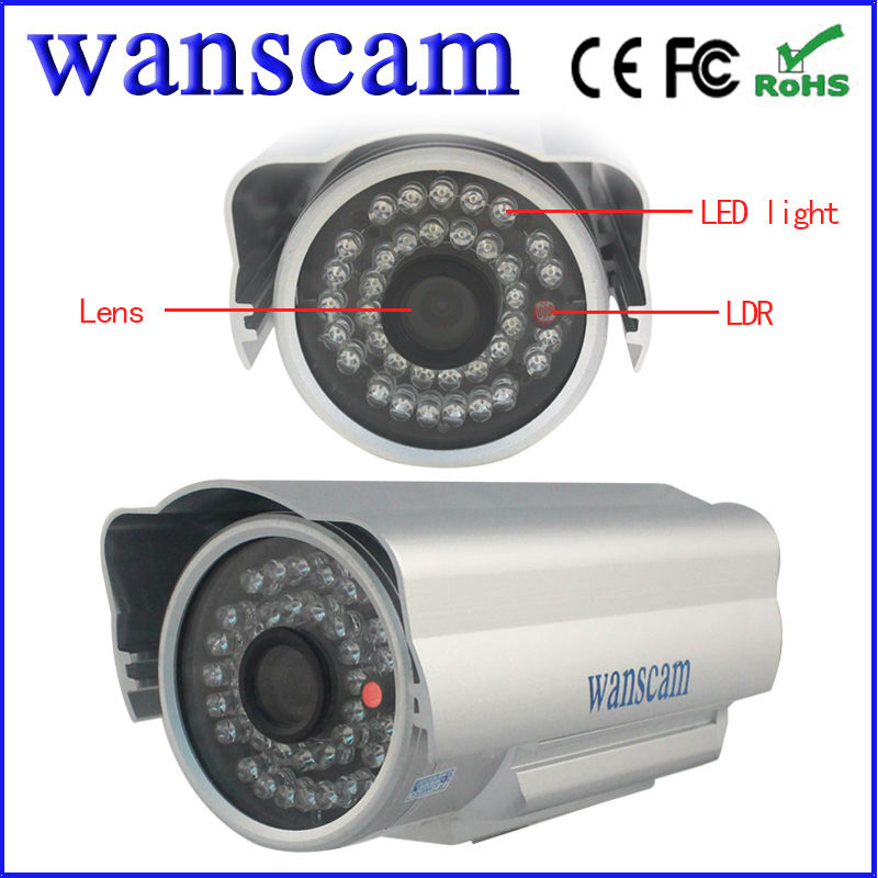Wanscam osd menu waterproof 700tvl hd wifi camera outdoor