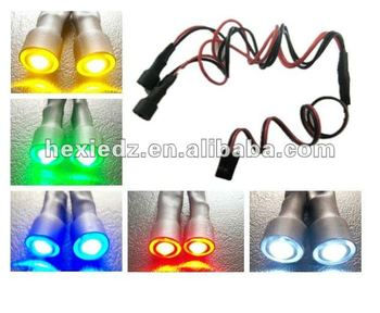 RC Car LED Headlight with various colors