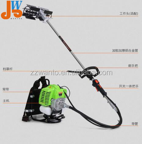 Gasoline grass cutter/grass trimmer/weeding machine for farm equipment tools