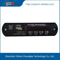 pcb usb player mp3 with fm