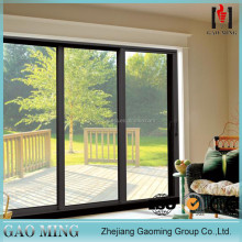 Uv Resistant Aluminum Balcony Sliding Glass Door