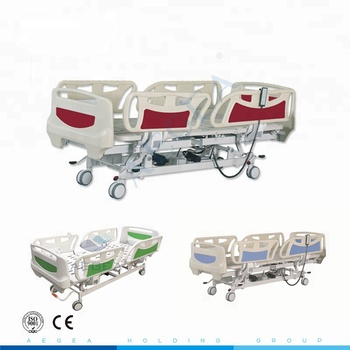 AG-BY003C nursing home suppliers medical equipments ABS used medical electric automatic hospital bed price for sale