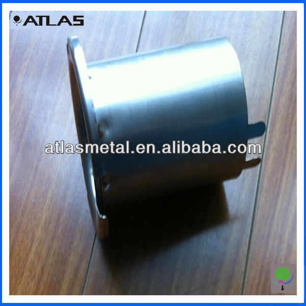Custom steel sheet deep drawn parts , metal deep stapming , stainless steel drawn parts