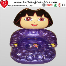For Kid Cute Portable Cartoon Children's Toy Chairs Lovely Inflatable Sofa PVC