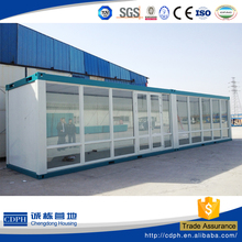 ISO ,BV certificate prefab container hotel with two bed for sale