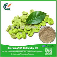 Competitive prices private label green coffee bean extract with CE certificate