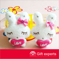 Cheapest Promotion Gifts stuffed Rabbit toys for kid
