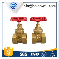 female thread brass non rising stem gate valve